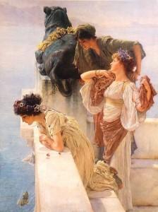 Alma_Tadema_A_Coign_of_Vantage