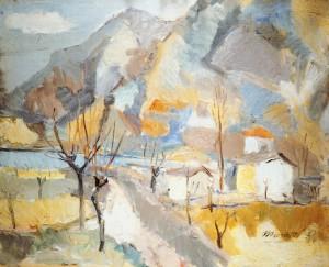 Ennio Morlotti, Lungo l'Adda, 1937