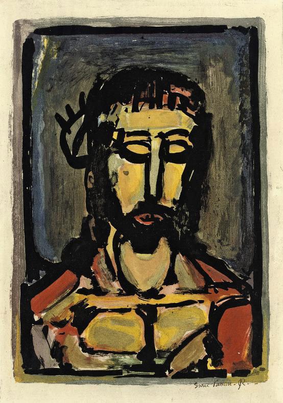 Georges Rouault Ecce dolor, 1936