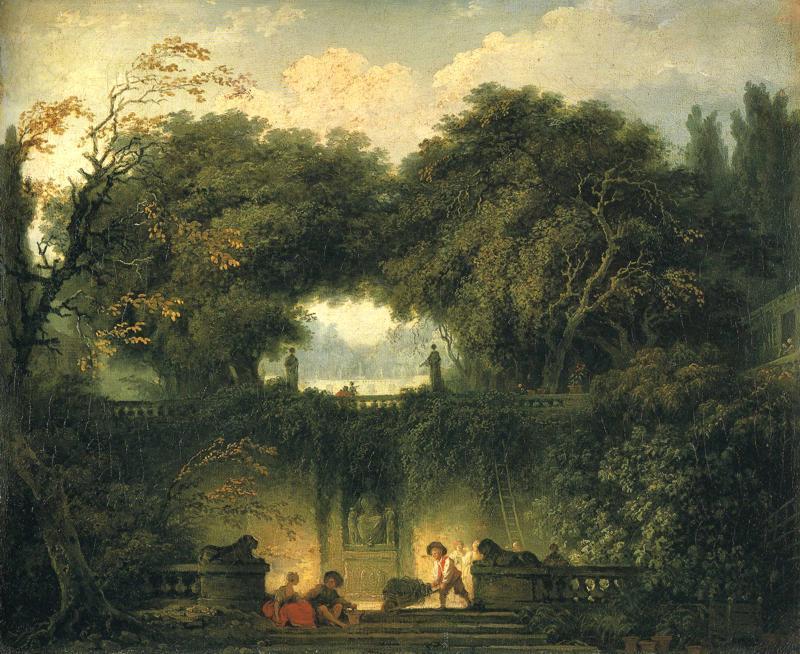 Jean-Honore-Fragonard-The-Gardens-of-the-Villa-d-_Este-at-Tivoli
