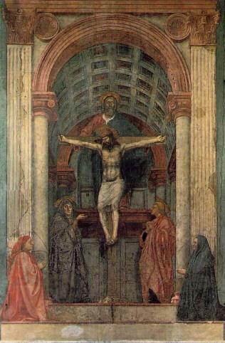 Masaccio the holy trinity