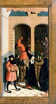 maitre d'alkmaar Les sept oeuvres de miséricordes, 1504, Rijkmuseum